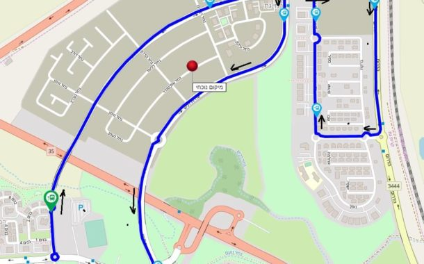 החל מ 01.12.19 יחולו שינויים במסלול נסיעה של קו 4 בכרמי גת