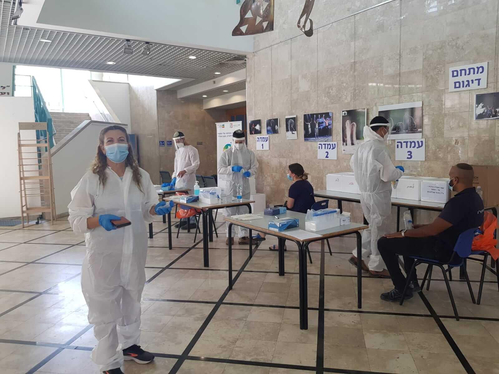 עדכון קורונה: תושבי קריית גת יכולים להגיע לבדיקת קורונה ללא הפניה מרופא משפחה