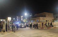 הפגנה בכרמי גת מול ביתו של חבר הכנסת מיקי זוהר